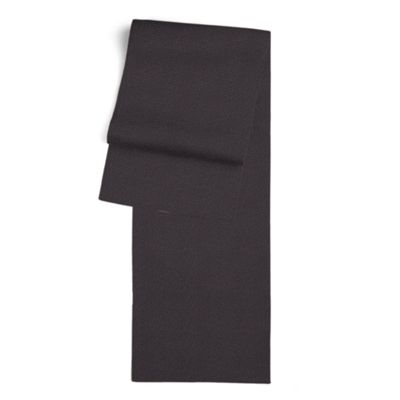 Charcoal Gray Velvet Table Runner