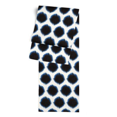 Black & Blue Dot Table Runner