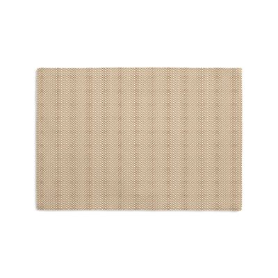 Handwoven Tan Herringbone Placemats