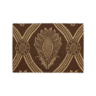 Brown Medallion Trellis Placemats