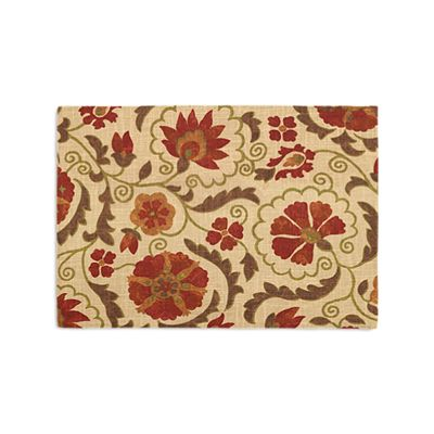 Beige & Red Suzani Placemats