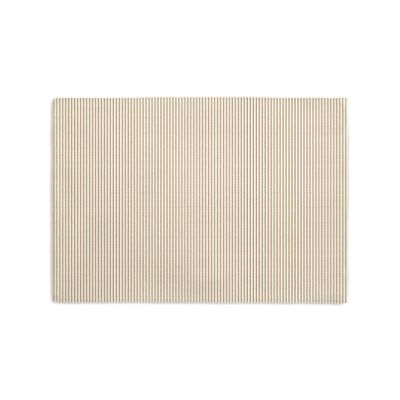 Beige Pinstripe Placemats