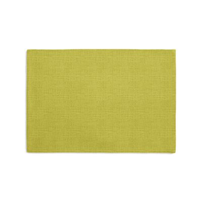 Chartreuse Green Linen Placemats