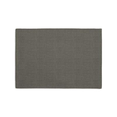 Charcoal Gray Linen Placemats