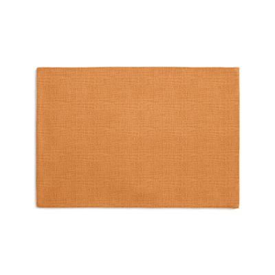Burnt Orange Linen Placemats
