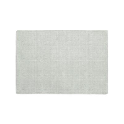 Pale Gray Slubby Linen Placemats