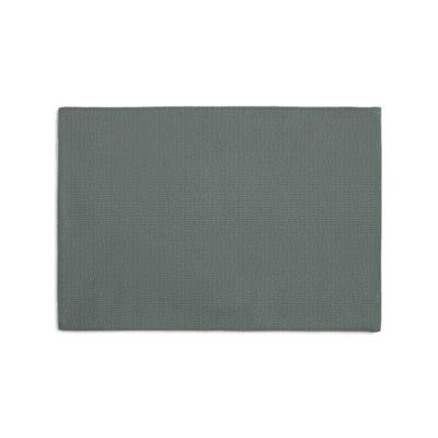 Charcoal Slubby Linen Placemats