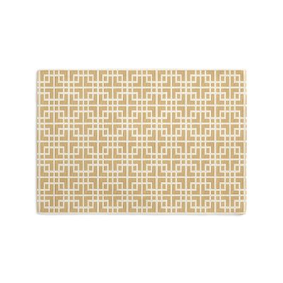 Beige Square Lattice Placemats