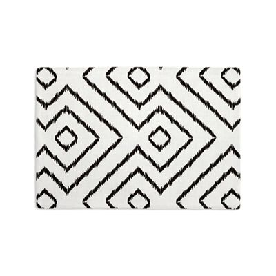 Black & White Diamond Placemats
