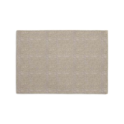 Silvery Gray Metallic Linen Placemats