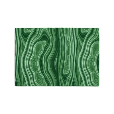 Marbled Green Malachite Placemat, Set of 4
