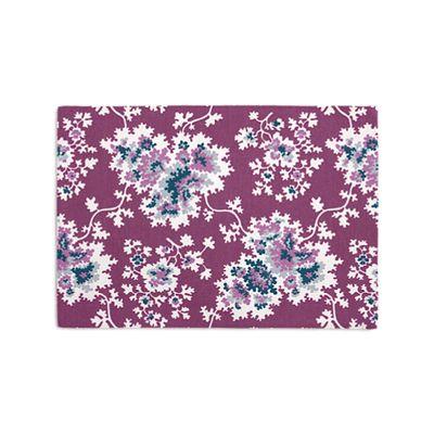 Purple & Teal Leaf Placemats