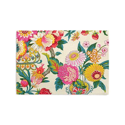 Candy-Colored Chinoiserie Placemats