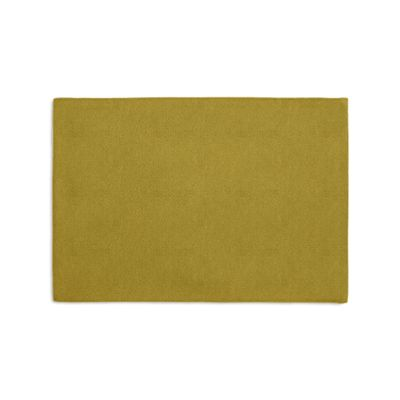 Chartreuse Green Velvet Placemats