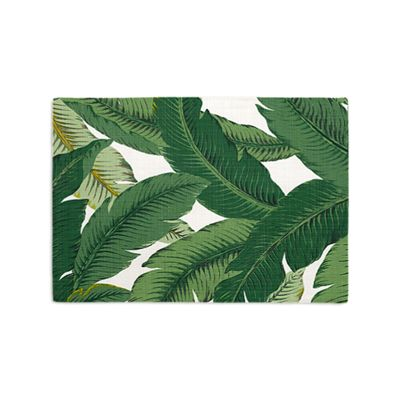 Green Banana Leaf Placemat, Set of 4
