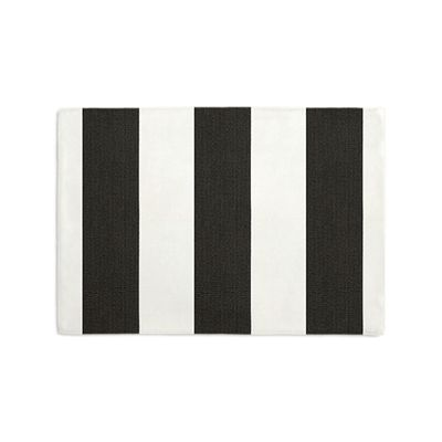Black & White Awning Stripe Placemats