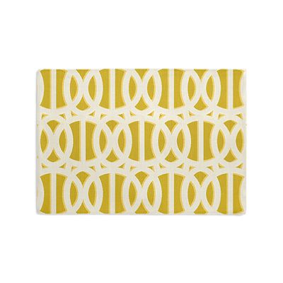 Bright Yellow Trellis Placemats