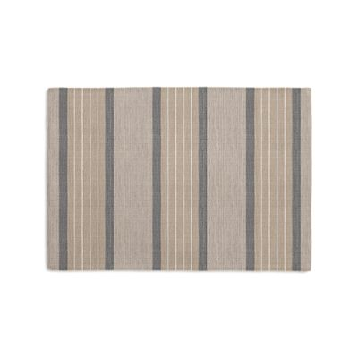 Tan & Gray Stripe Placemats