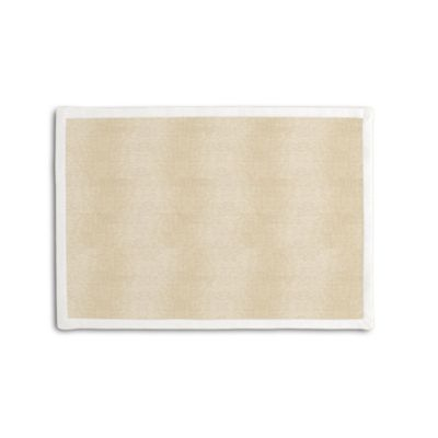 Silvery Tan Metallic Linen Placemat, Set of 4