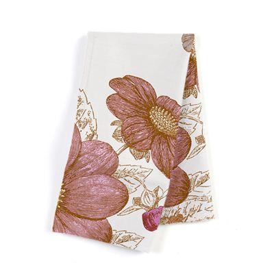 Sketched Pink Floral Napkins