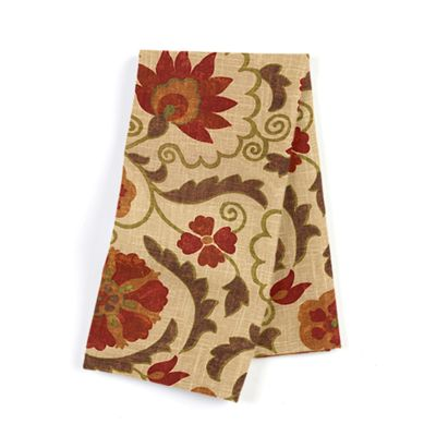 Beige & Red Suzani Napkins