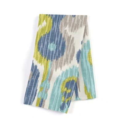 Aqua, Blue & Green Ikat Napkins