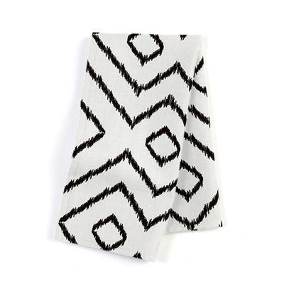Black & White Diamond Napkins