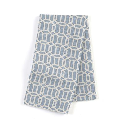 Sky Blue Lattice Napkins