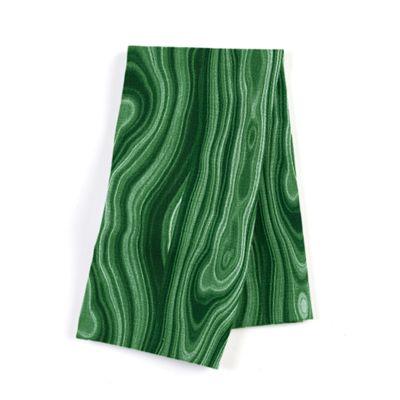 Marbled Green Malachite Napkin, Set of 4