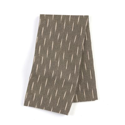 Tan & Black Dashes Napkins