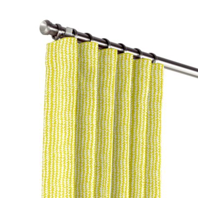 Lime Green Vine Outdoor Curtains