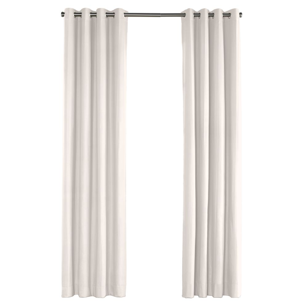 Custom outdoor grommet curtain panel loom decor - Custom made outdoor curtains ...
