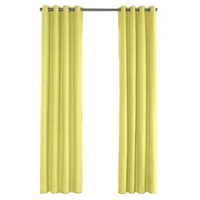 Lime Green Vine Outdoor Grommet Curtains