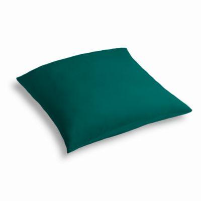 Teal Sunbrella® Canvas Outdoor Floor Pillow
