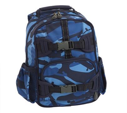 Mackenzie Preschool Backpack, Navy Skateboard Camo
