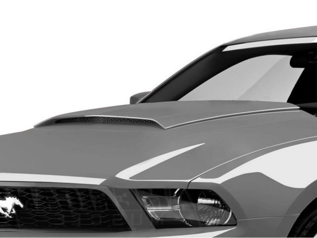 speedform mustang hood scoop pre painted 13257 uz 10 12. Black Bedroom Furniture Sets. Home Design Ideas
