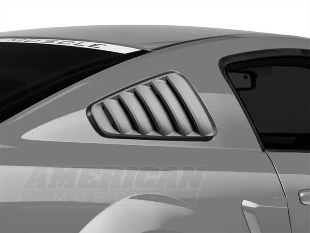 MMD Classic Quarter Window Louvers - Pre-Painted (05-09 All)