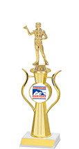 "13"" Achievement Trophy with ADA Emblem and Figure"
