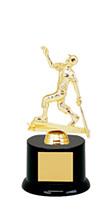 """DINN DEAL! 8"""" Black Acrylic All Star Trophy"""