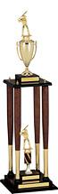 "Baseball Trophy - 48"" Championship Baseball Trophy"