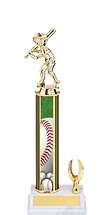 "Baseball Trophy - 11-13"" 1 Eagle Trophy"