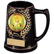 "Basketball Award - 5"" Mug with Emblem"
