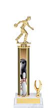 "Bowling Trophy - 11-13"" 1 Eagle Trophy"