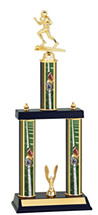 "18-20"" Three Column Football Trophy"
