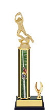 "11-13"" Football Trophy with 1 Eagle"
