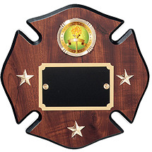 "8 x 8 - 10 x 10"" Star of Life Emblem Plaque"