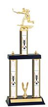 "18-20"" Three Column Hockey Trophy"