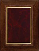 "7 x 9"" Classic Burgundy Plaque"