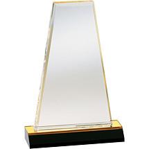 """6 x 7 - 6 x 9"""" Designer Acrylic Award"""