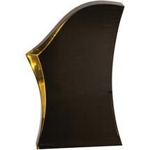 "7"" Gold Highlight Wave Award"